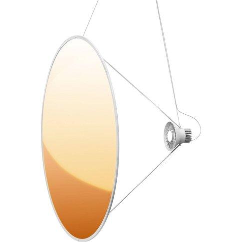 Luceplan Amisol Led Pendant Light Ø 110Cm Gold
