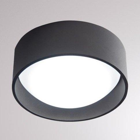 Loum Yura Led Ceiling Light Black