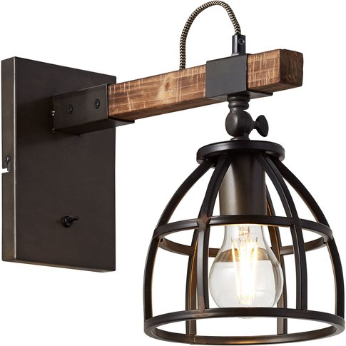 Wall Light Matrix With Cage Shade