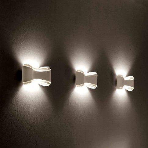 White Designer Wall Light Ionica