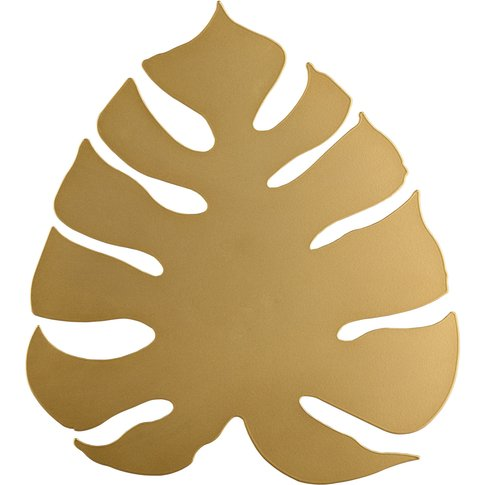 Monstera Led Wall Light As A Leaf, Gold
