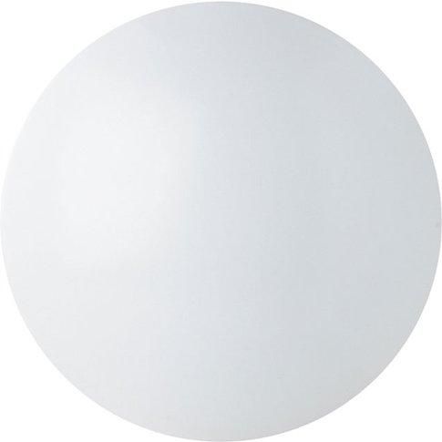 Renzo - Round Led Ceiling Light Ip44, Cool White