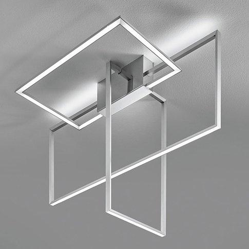 Area - Aluminium-Coloured Led Ceiling Light