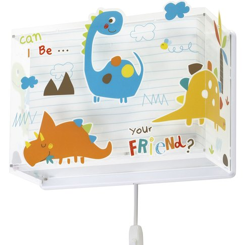 Dinos Children'S Wall Light With A Plug