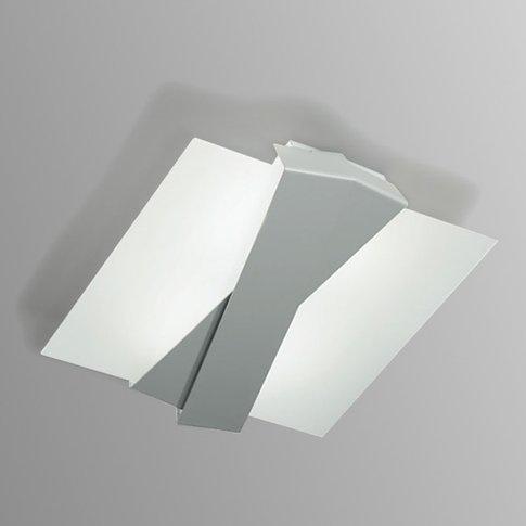 Modern Ceiling Light Zig Zag, Aluminium