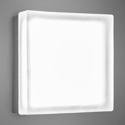 Briq 02 Square Led Wall Light Cool White