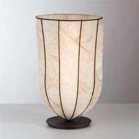 Antique Giara Table Lamp, 38 Cm