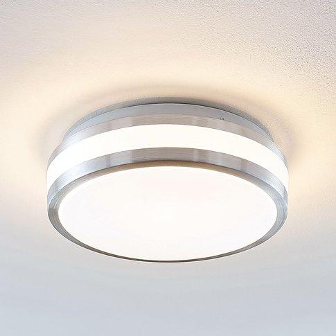 Lindby Nelia Led Ceiling Lamp, Round, 29 Cm