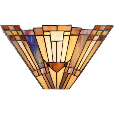Tiffany-Style Wall Light Esmea