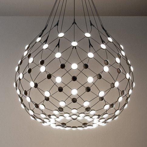 Mesh Pendant Lamp Ø 80cm 1m Suspension System