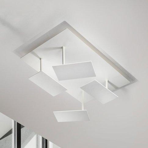 White, Modern Led Ceiling Light Time, Adjustable