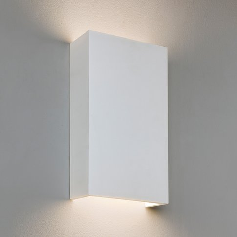 Astro Rio 190 Led Plaster Wall Lamp 2700k Dimmable
