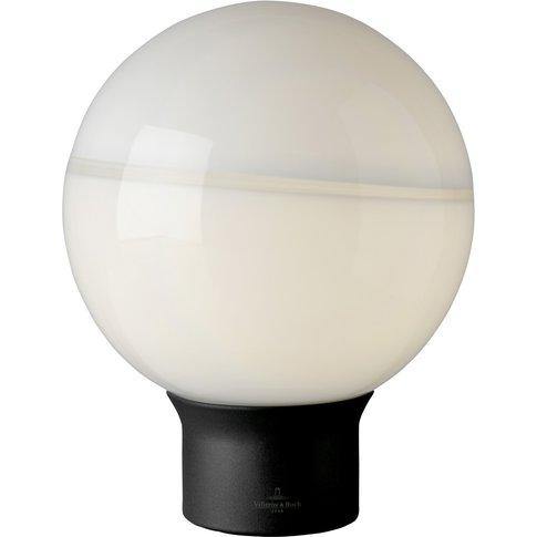 Villeroy & Boch Tokyo Table Lamp Black/White 20Cm