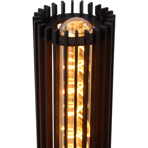 Lionel Table Lamp Made Of Metal, Black