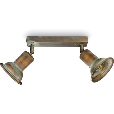 Genziana 1412.E27 Ceiling Lamp 2-Bulb