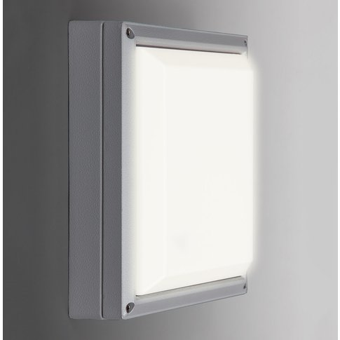 Sun 11 - Led Wall Light 13W, Light Grey 4,000K