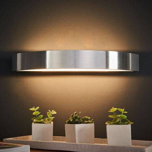 Led Wall Light Yona, Aluminium, 37.5 Cm