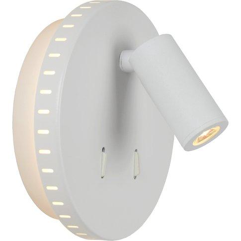 Bentjer Led Wall Light 2 Light Sources White