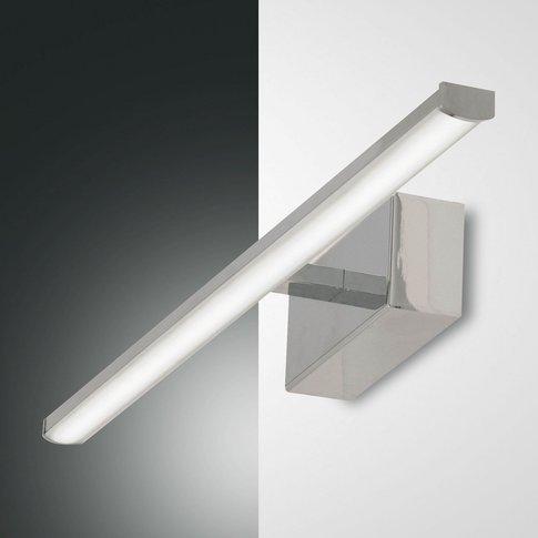 Nala Led Wall Light, Chrome, Width 50Cm