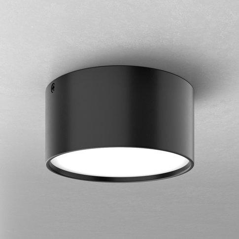 Mine Led Ceiling Light In Black, 12 Cm