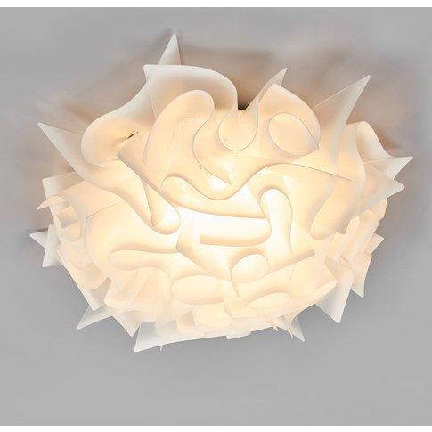 Slamp Veli - Designer Ceiling Light, Ø 53 Cm, Opal