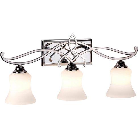 Brooke Led Wall Lamp, Three-Bulb