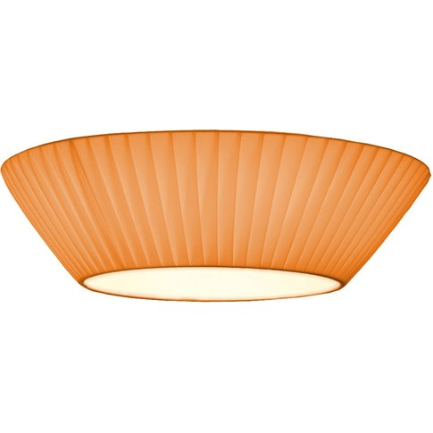 Simple Orange Ceiling Light Emma 50 Cm
