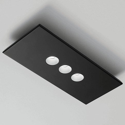 Icone Confort Led Wall And Ceiling Light, Black