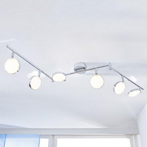 Keylan Led Ceiling Spotlight, Six-Bulb