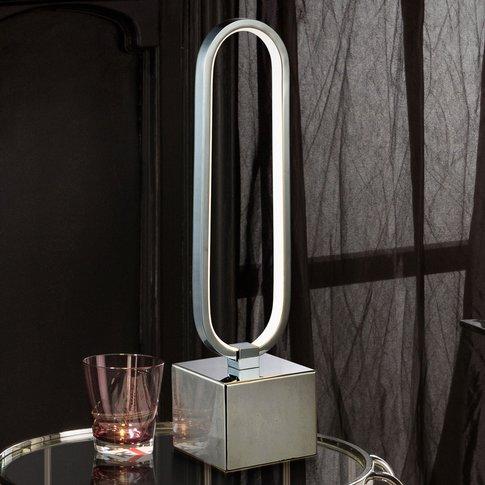 Colette Led Table Lamp, Fantastic Design, Chrome