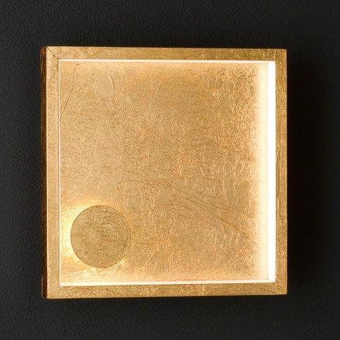 Letizia Led Wall Light, Gold