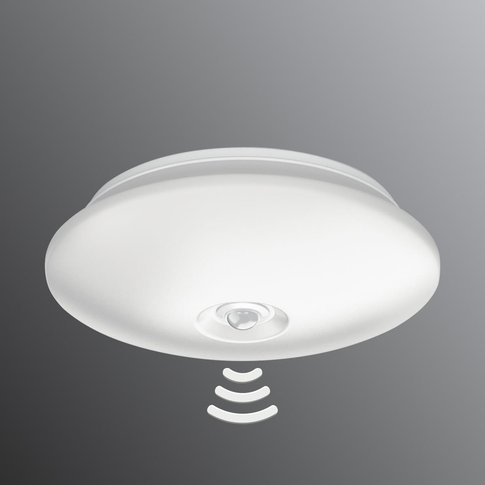 With Ir Sensor - Led Ceiling Lamp Mauve 25.4 Cm