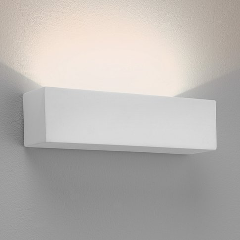 Astro Parma 250 Led Wall Lamp, Plaster, 2,700 K