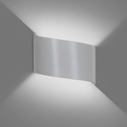 Vero Wall Light Made Of White Painted Steel