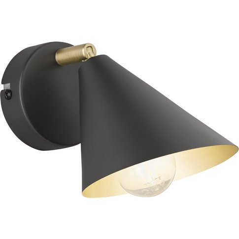 Gloria Wall Light, Anthracite, Adjustable