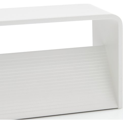 Lucande Sessa Led Wall Light 37Cm White