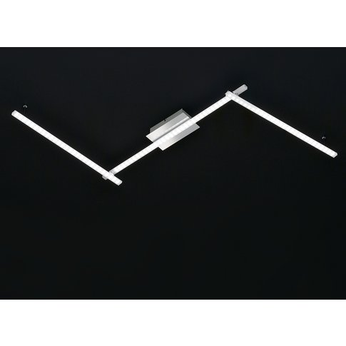 Clay Led Ceiling Light With Three Parts