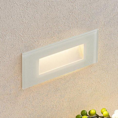 Jody Led Recessed Wall Light, 19 Cm