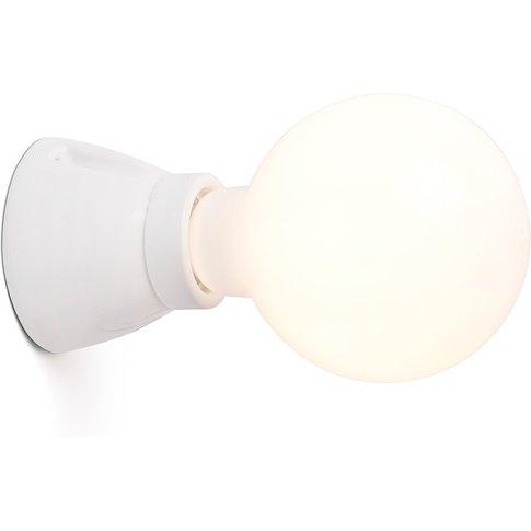 Kera Wall Light, White