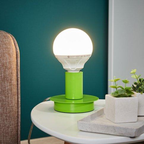 Puristic Lumetto Table Lamp - Green