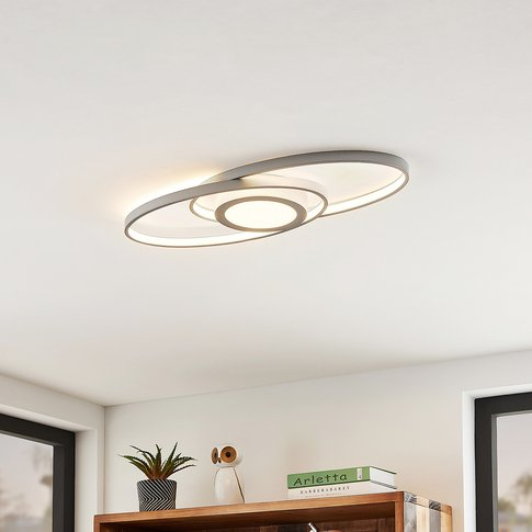 Lindby Charlok Led Ceiling Light, Dimmable
