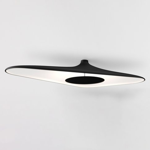 Luceplan Soleil Noir Led Ceiling Light, Black