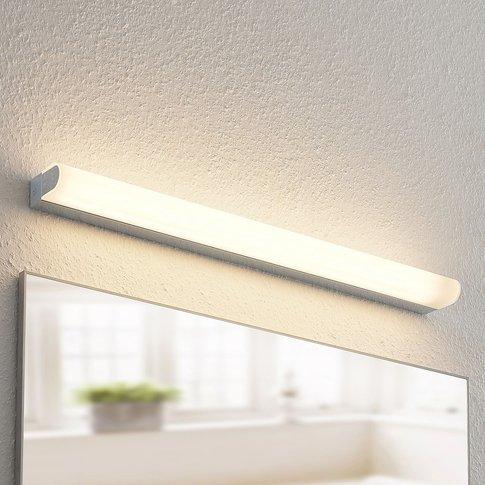 Arcchio Mourice Led Wall Lamp, Ip44, Chrome, 71Cm