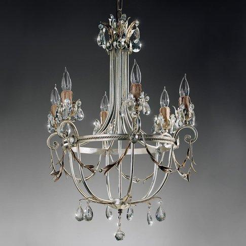 Florentine Mecca Chandelier, 6-Bulb