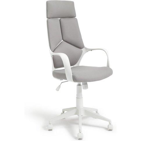 Habitat Alma High Back Ergonomic Office Chair - Grey...