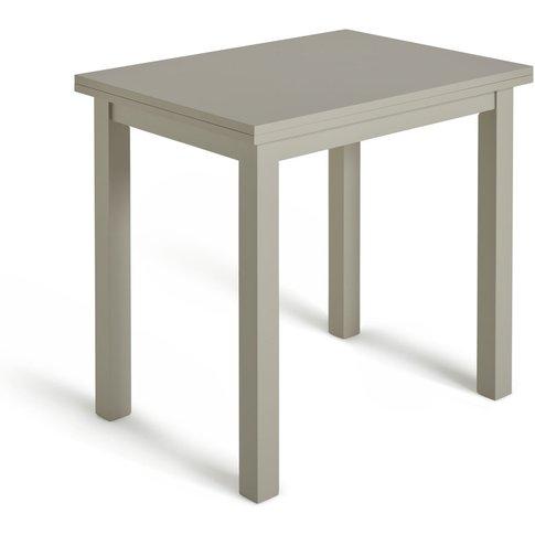 Habitat Chicago Extending 4 Seater Dining Table - Grey, Grey