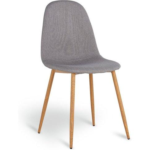Habitat Beni Fabric Office Chair - Grey