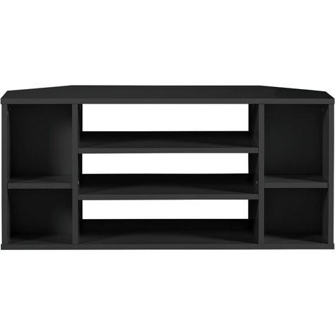 Habitat Suki Corner Tv Unit - Black, Black