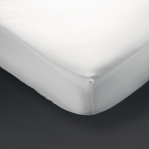 Comfort Cairo Fitted Sheet White Super King