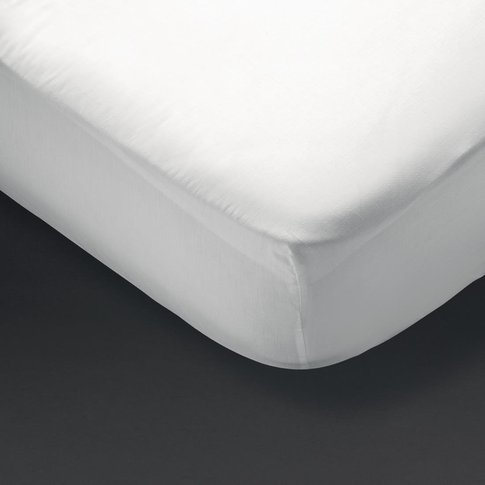 Essentials Spectrum Fitted Sheet White Double
